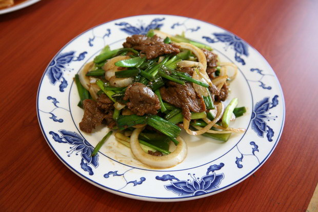 beef with scallions - Chens Garden 2