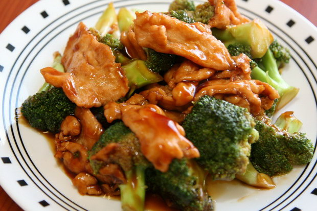 Asian Chicken And Broccoli