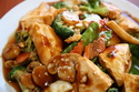 tofu with mixed vegetables素菜豆腐 2